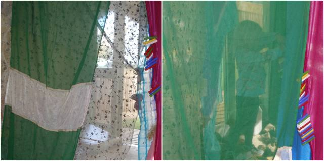 Fabric Huts